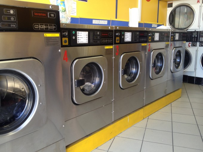 French Laundromat