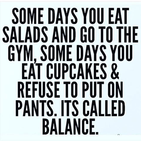 Eating Balance Quote