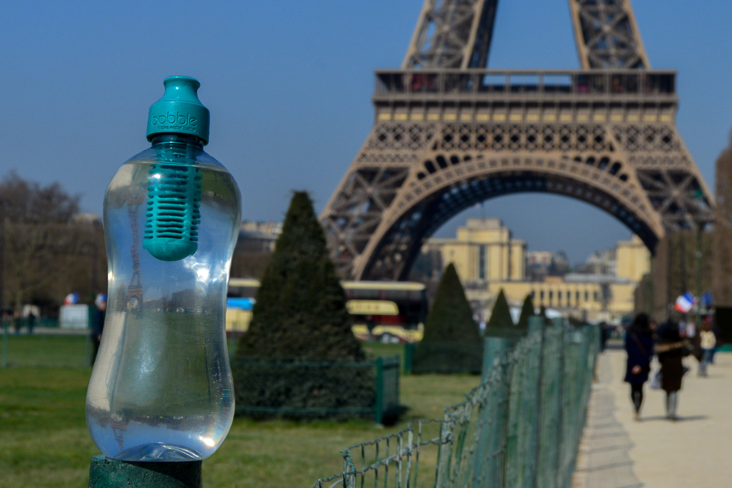 Bobble Water Bottle Paris Eiffel Tower