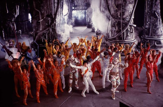 Captain EO With Michael Jackson Dancing