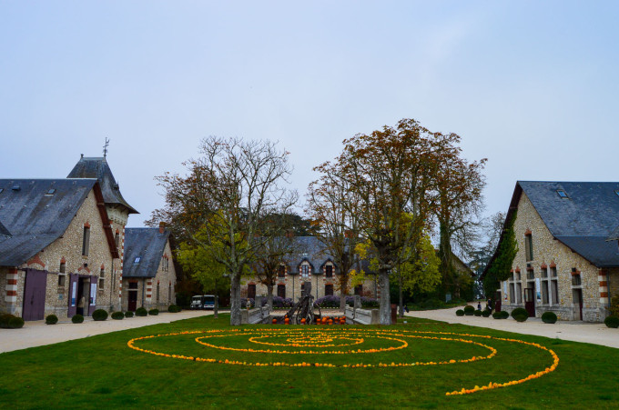 Chaumont Castle Pumpkins