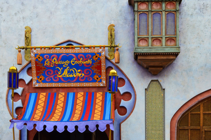 Underrated Disneyland Paris Attractions Aladdin Passage