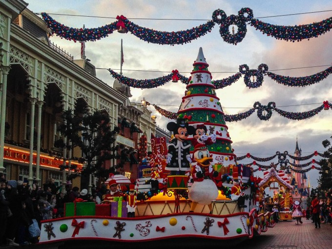 Disney's Christmas Celebration Parade
