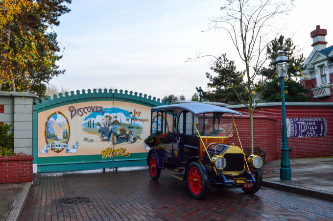 Disneyland Paris Paddy Wagon