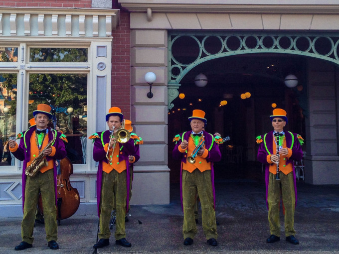 Disneyland Halloswing Orchestra Plays Halloween Music