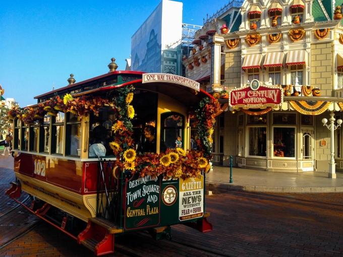 Disneyland Horse Drawn Carriage