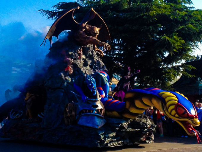 Disneyland Villains Parade Float