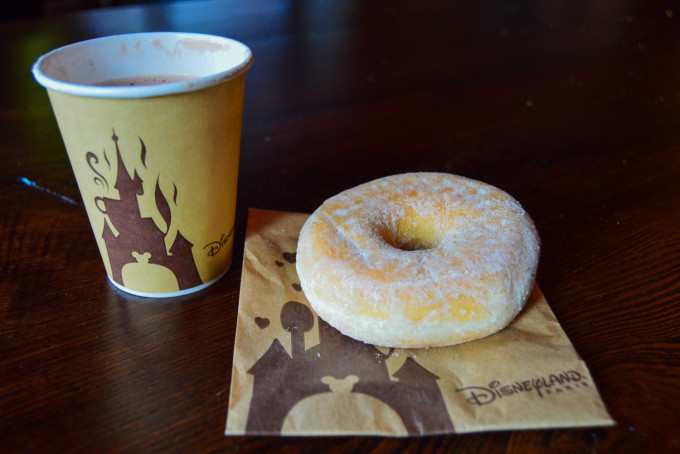 Disneyland Paris Last Chance Cafe Pause Gourmande Donut