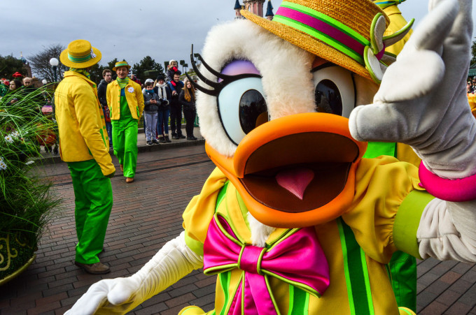 Daisy Duck Disneyland Paris