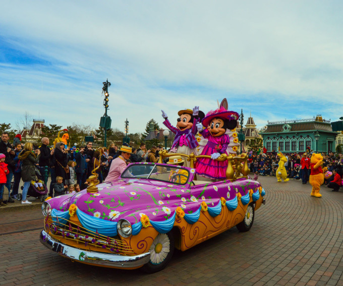 Swing into Spring 2015 Disneyland Paris Parade