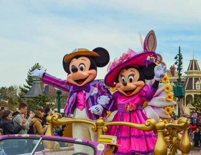 Mickey and Minne During Swing into Spring 2015