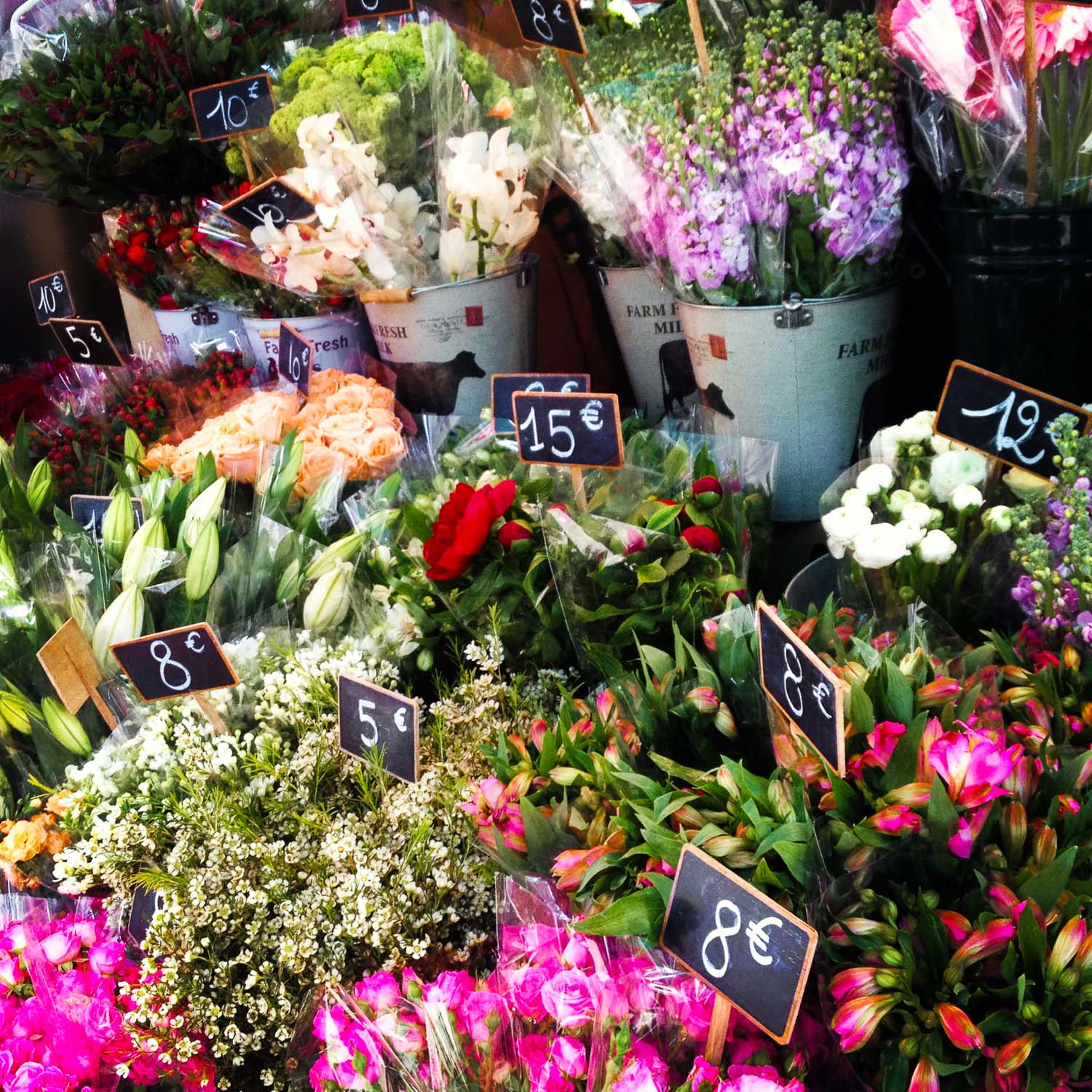 Easter Flower Market Paris