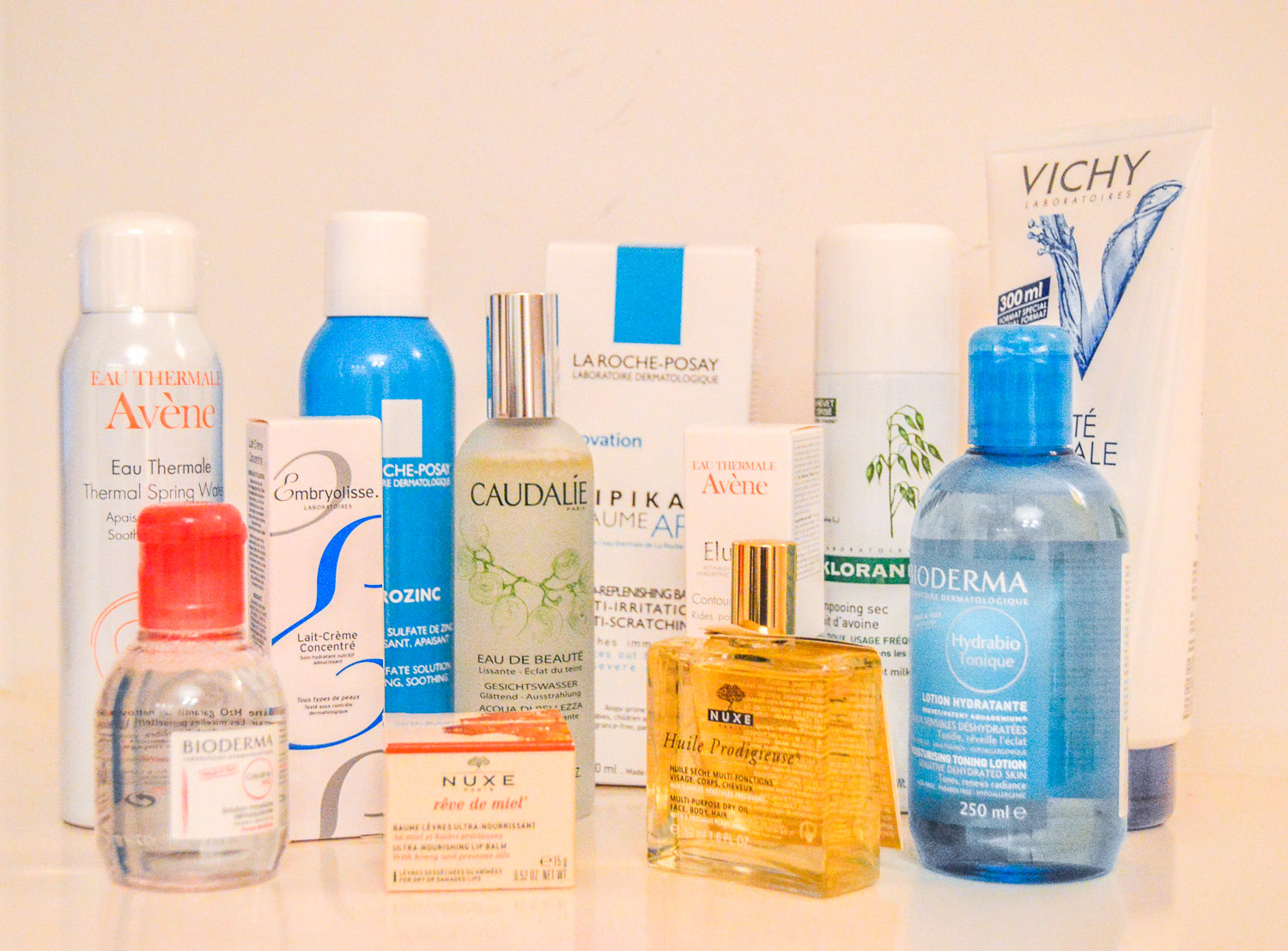 top french skincare products
