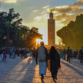 Marrakech Sunset Koutoubia Mosque