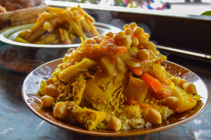Couscous Marrakech Morocco