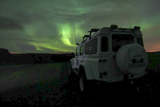 Northern Lights in Iceland by Tour Superjeep.is