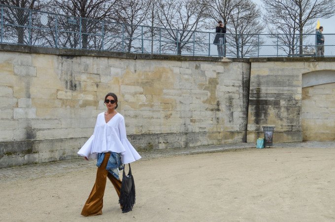 Paris Fashion Week Walk