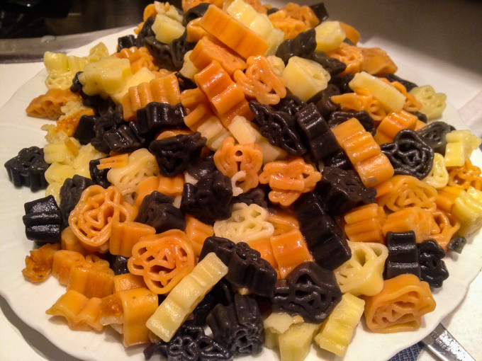 Paris Halloween Pasta