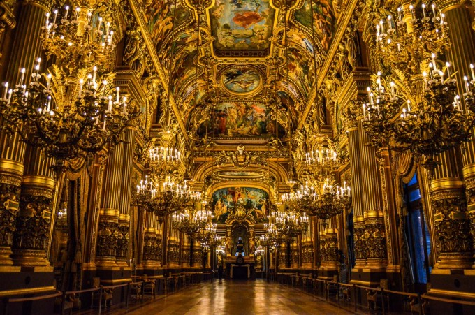 Palais Garnier Grand Foyer : Parisian opulence at its best inside the palais garnier
