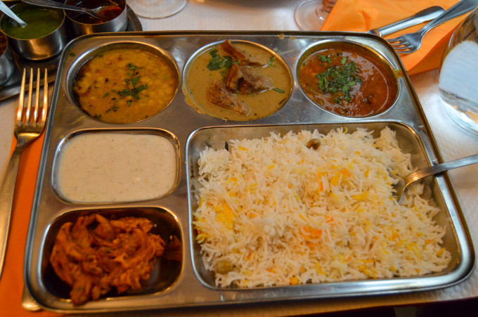 Midi Formule at Pooja Indian Restaurant Paris