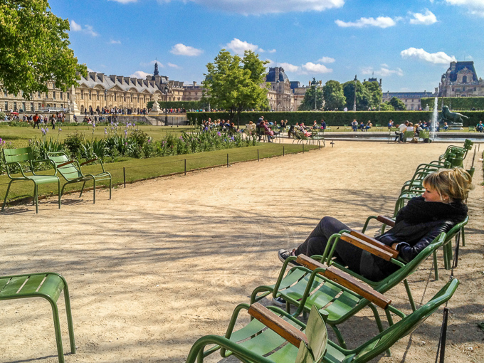 Tuileries Easter Sunday Afternoon